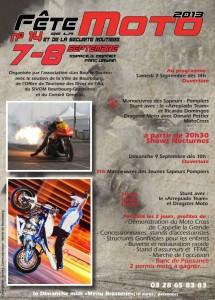Fête de la moto, 7-8 septembre 2013, Bourbourg