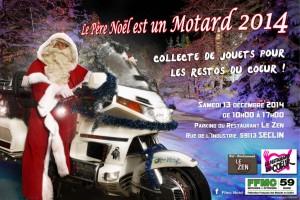 Le Père Noël est un motard 2014 SECLIN