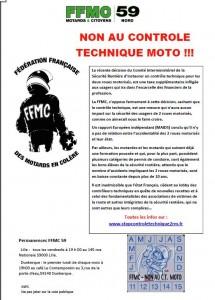 Non au controle technique moto