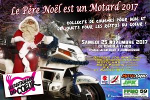 Le Père Noël est un motard 2016 DK
